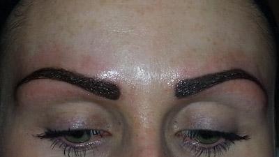 Semi permanent make up facial tattoo in newcastle upon for Semi permanent tattoo eyebrows